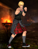 Eliot(Punk Rock) Dead or Alive 5 Last Round by XKamsonX