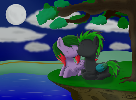 Under the Moon by Cloudy95