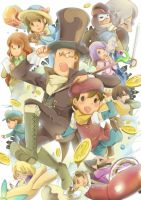 professor layton puzzle A2 by PAPAWS