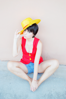 YOSH!! Luffy Gender Bender by CrazyMonkey87