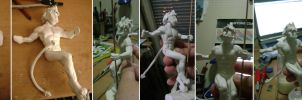 Franko Sculpture -wip- by Fox777