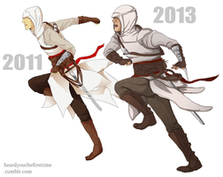 Altair Redraw (2011 and 2013) by Uccan