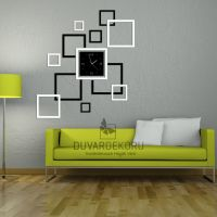 Black and White Decorative Wall Clock by TablomBurada