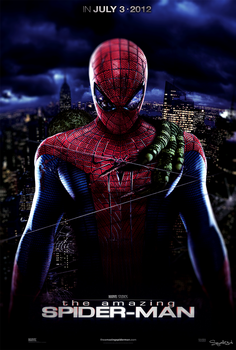 The Amazing Spider-Man Poster by Squall234