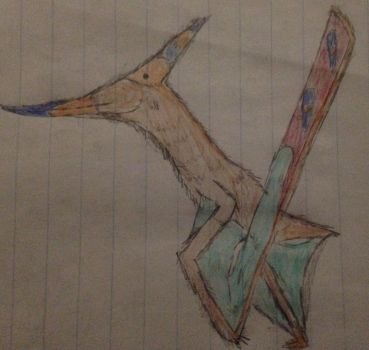 Pteranodon by TheDerpasaur
