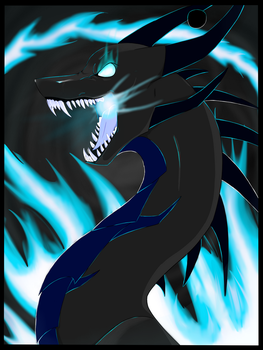 Black Hole Dragon by x-Re-Animated-x