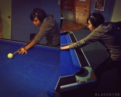pool player newbie by TRANCE--fusion
