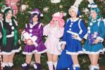 Outer Christmas Senshi by PinkJusticeCosplay