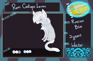 TVL Application : Roni Calliope Leron by Laurel3aby