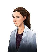 Molly Hooper by Heeeunee