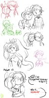 fiolee sketch dump by rainbowmostacho