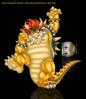 King Bowser Koopa by Mavrika