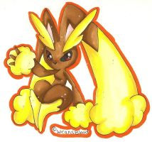 Lopunny by WicansBlood