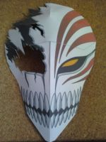 Broken Hollow Mask Papercraft Finished by rubenimus21
