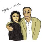 Cartoon Aunty and Uncle by gypsysnail