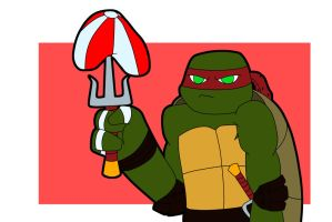 That Is Not How You Play by TMNT-Raph-fan