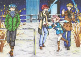 Winter Evening - Time after Time Soul Mates by ShioAtemu