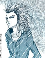 Axel Sketch by cassiesillustrations