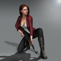 New Amanda inspired by Maggie frm.The Walking Dead by Torqual3D