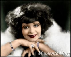 Clara Bow by M3ment0M0ri