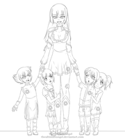GLaDOS 's Family by TheULTImateAngel