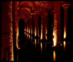 The Basilica Cistern 3 by esword