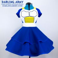Vegeta Cosplay Pinafore Dress Accessory by DarlingArmy