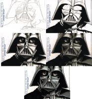 Darth Vader process by Frisbeegod