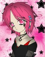 Pink Haired Girl ... Again by Louy7