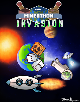 Mineathon 2015 -Space Adventure (Charity Event) by thegamingdrawer