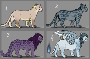 12-15 point lion adopts still OPEN by Aqua-Adopts22