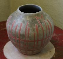 Earthenware pot by RowanSong