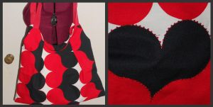 Queen of Hearts Purse by Dye-Another-Day