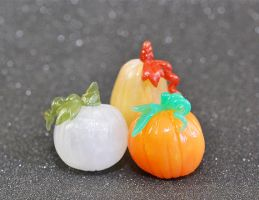 Hollow 'Glass' Pumpkins by HowManyDragons