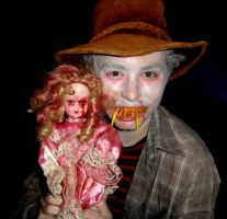 crazy guy and doll by dexter121uk