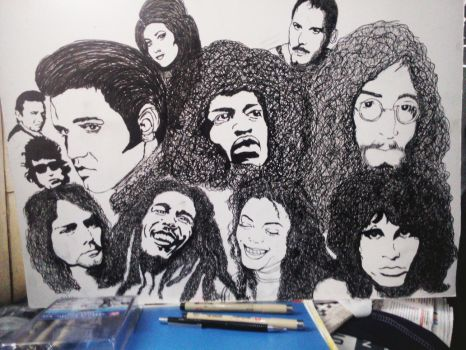 ALL R ONE by Artsouls143