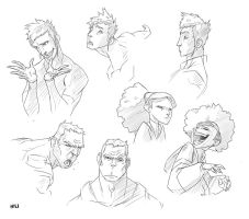 TFG crew expressions by shubacca