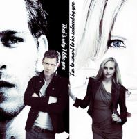 Caroline Forbes Klaus Michaelson by Miss-deviantE