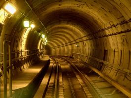 Copenhagen Metro Tunnel by alloria-sjg