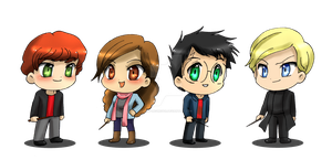 HP: Chibis by Mary-McGregor