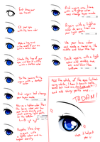 [TUTORIAL] - How I color my eyes by MiuSann