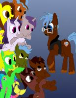 Any pony Got His Hoofs Full work 4 by daylover1313