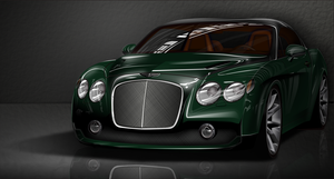Bentley Continental GTZ by mrmanders