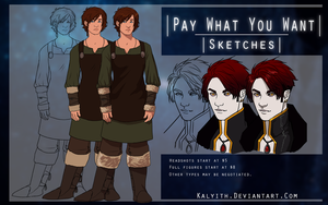 .[Sale] Pay What You Want [Unlimited Slots]. by Kalyith