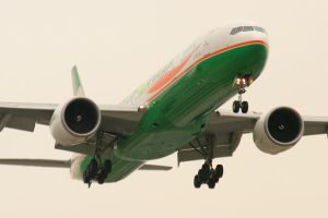 LAX 09 Eva 777-300ER by Atmosphotography