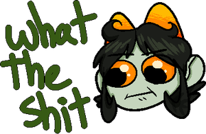 What The Shit by ClockworkWillow
