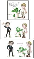 Yoda meets the Doctor by Chemartist
