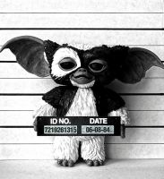 Gizmo police lineup by Christophe-Chiozzi