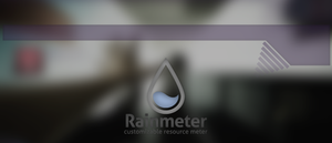 Rainmeter Falling Bar by Supermix1337