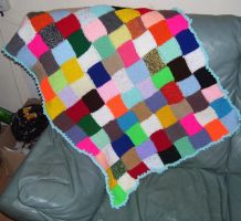 Elmer Baby Blankey by themagpiesnest